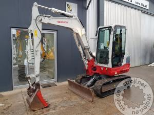 mini bageri takeuchi tb250 klima radio