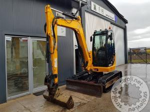 mini bageri jcb 8085 zts eco