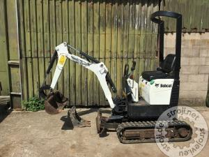 mini bageri bobcat e008