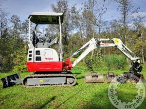 mini bageri takeuchi tb215r